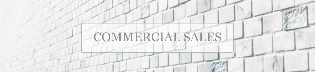 Commercial Sales banner